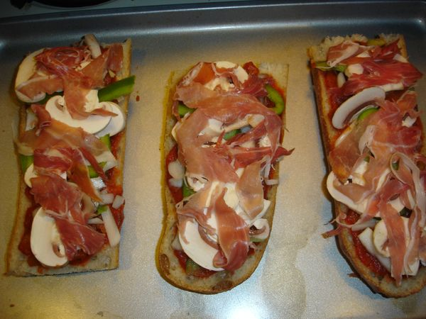 Pork Chops & Chicken: Quick and Easy French Bread Pizza